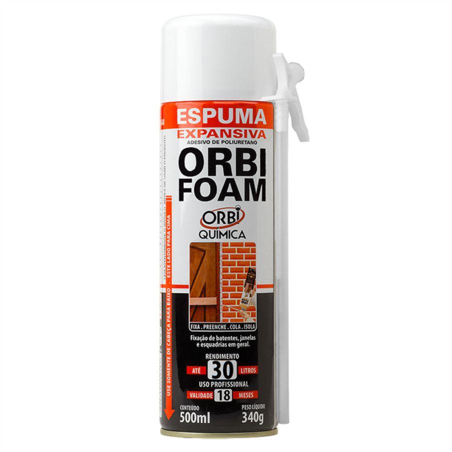 ORBI FOAM – ESPUMA EXPANSIVA 500ML